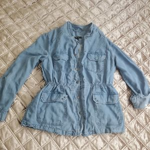 Style & co chambray jacket